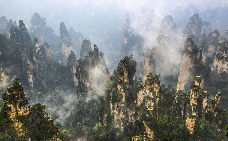 郴州东江湖,石门旅游区,宁乡密印寺,老司城景区,湘西乌龙山大峡谷